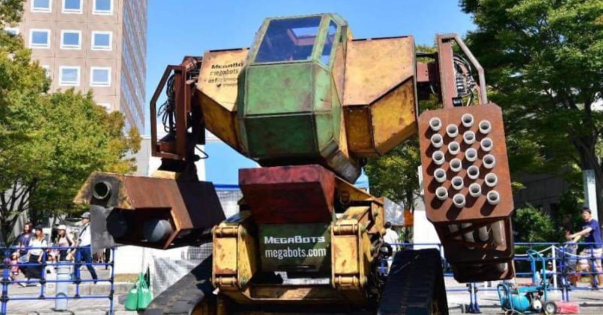 MegaBots(メガボッツ)プロジェクト by 4RE Inc.