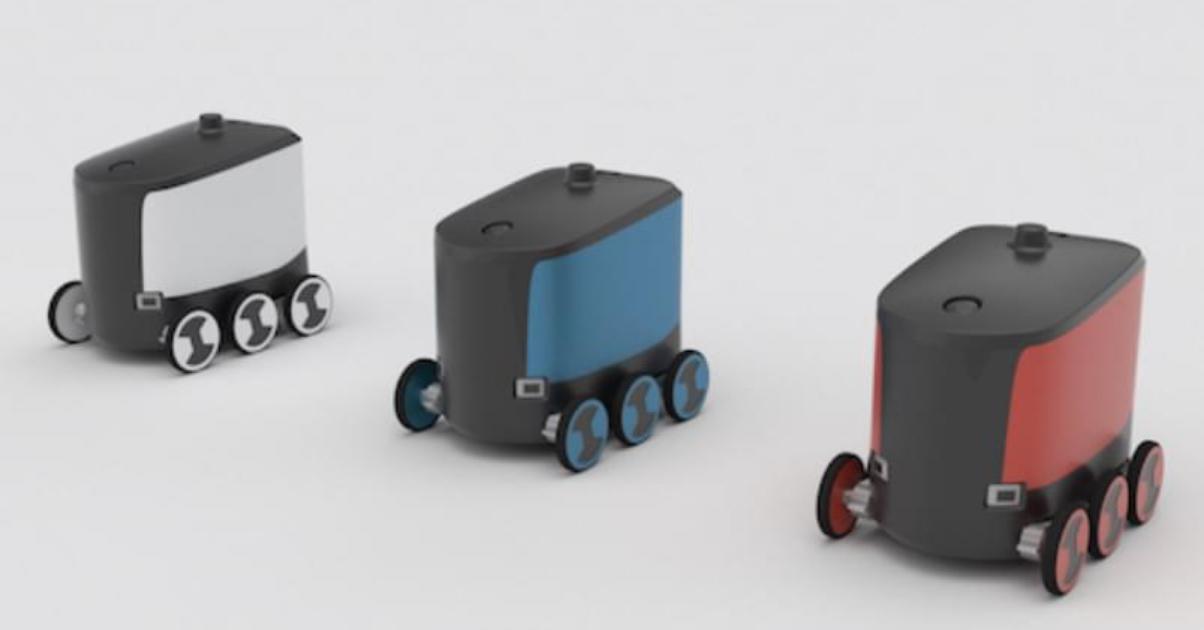自動運転ロボットHAKOBOT