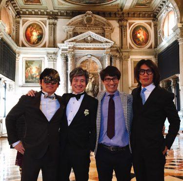 ヴェネツィアで結婚式